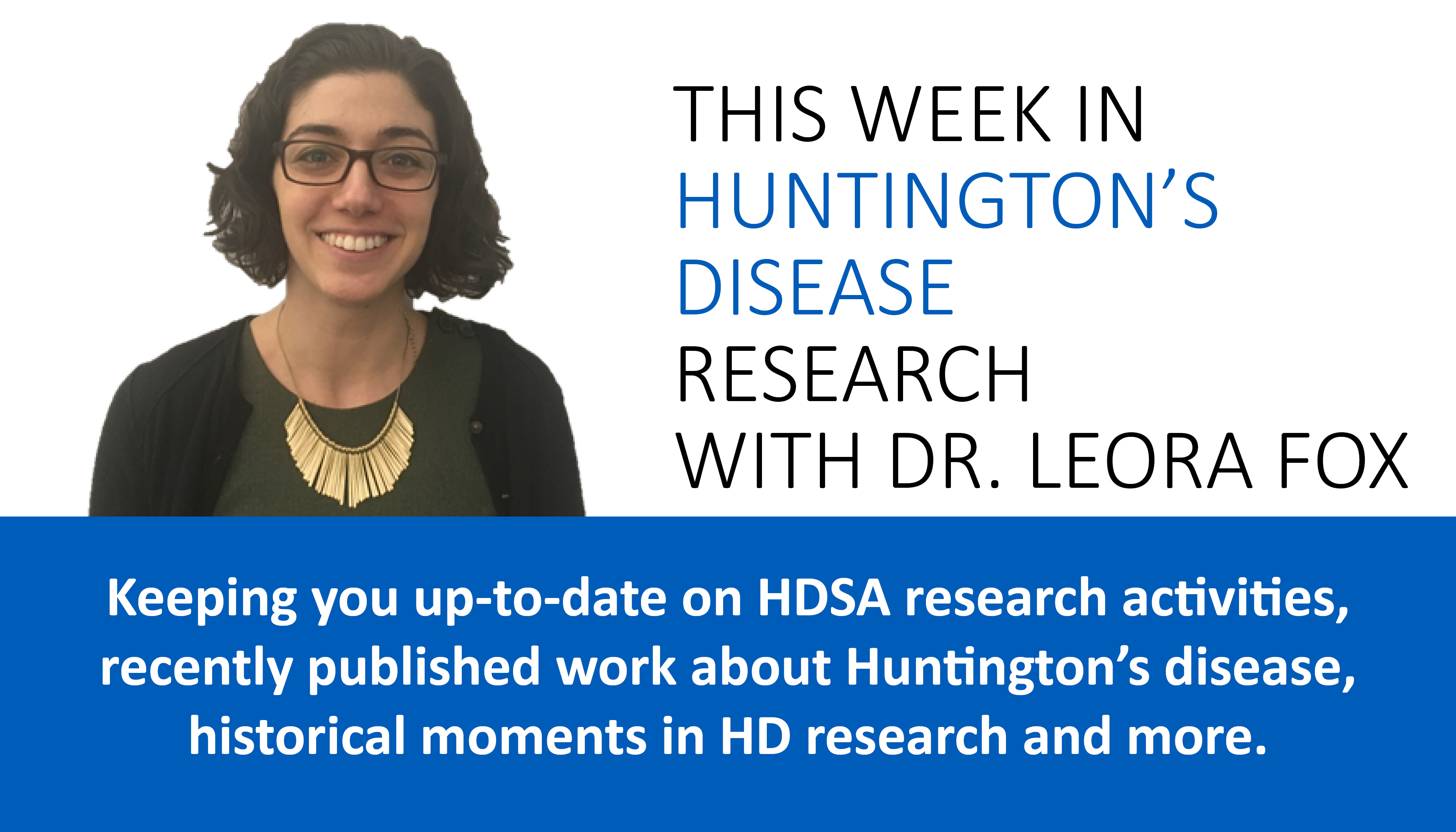 This Week in HD Research